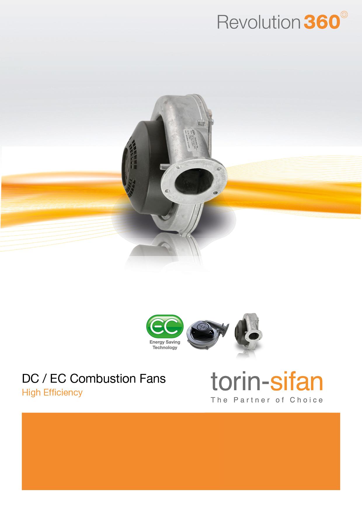 EC / DC Combustion Fans